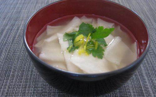 かんぴょうの味噌汁